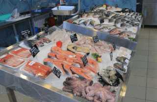 Специализированный магазин морепродуктов