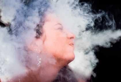 Вдыхание дыма