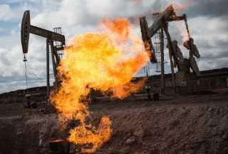 Метан при нефтедобыче