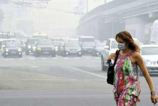 Интоксикация при вдыхании выхлопных газов