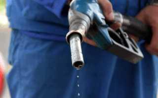 Контакт кожи с бензином
