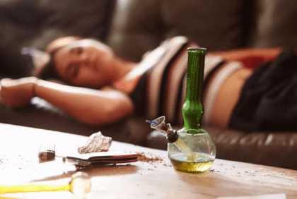 Внезапная «отключка» от наркоты