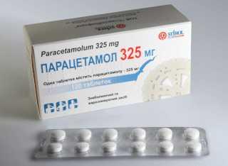 Обезболивающее парацетамол