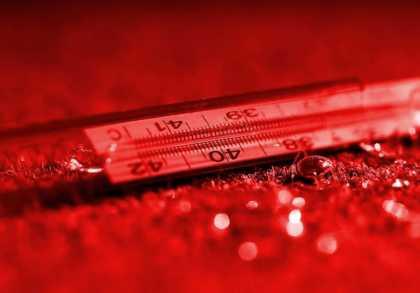 Повреждение ртутного градусника