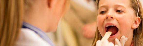 Фарингит у детей – симптомы, лечение, формы, фото