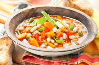 Супы из овощей