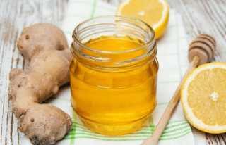 Имбирный сок с медом
