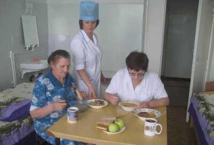 Диетическое питание в больнице