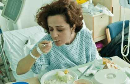У больного появляется аппетит