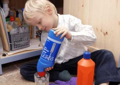 Ребенок и бытовая химия
