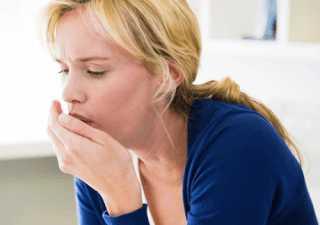 Резкий болезненный кашель