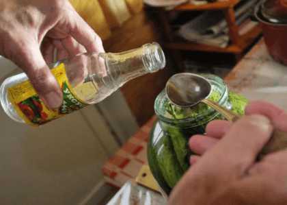 Соль и уксус в консервации