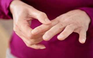 Покалывание и онемение пальцев