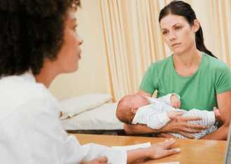 Обращение с ребенком к врачу