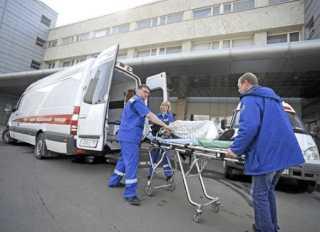 Доставка пострадавшего в больницу