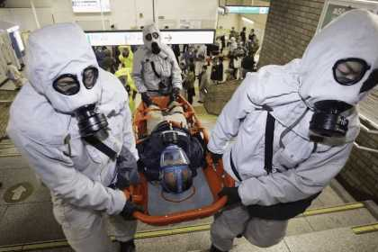 Помощь при поражении химическим оружием