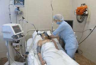 Пациента госпитализируют в реанимацию