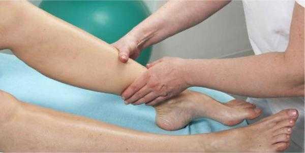 Массаж и растирания, если ногу свело судорогой