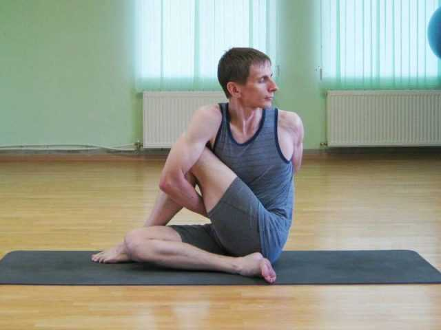 йога от простатита асаны