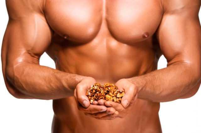 Польза орехов для мужской потенции
